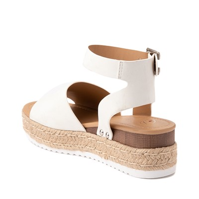 Alternate view of Womens Heart in D Topic-S Sandal - White