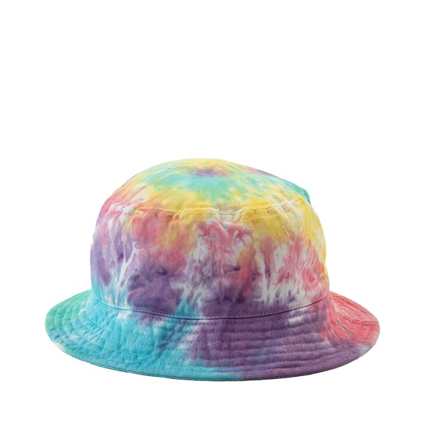 Main view of Pastel Tie Dye Bucket Hat - Multicolor