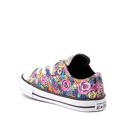Alternate view of Converse Chuck Taylor All Star Lo Sneaker - Baby / Toddler - Painted Floral