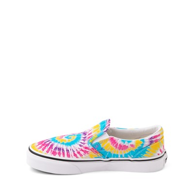 Alternate view of Vans Slip On Skate Shoe - Little Kid - Tie Dye