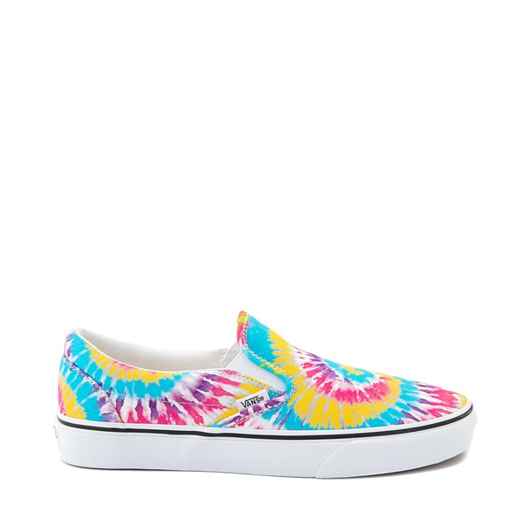 Main view of Vans Slip On Skate Shoe - Tie Dye