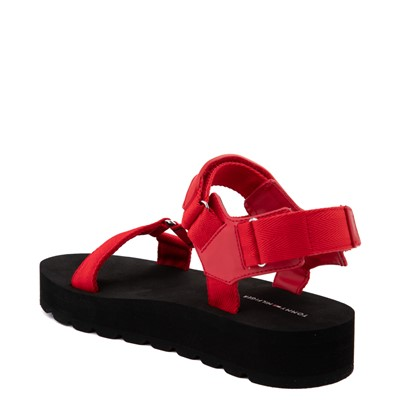 Alternate view of Womens Tommy Hilfiger Nanoi Platform Sandal - Red