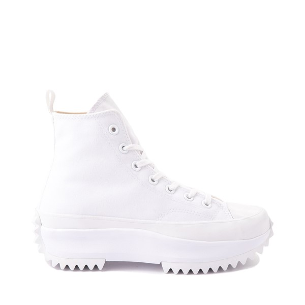 Converse Run Star Hike Platform Sneaker - White Monochrome