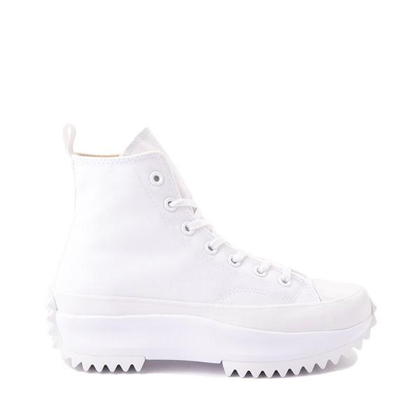 Converse Run Star Hike Platform Sneaker - White Monochrome