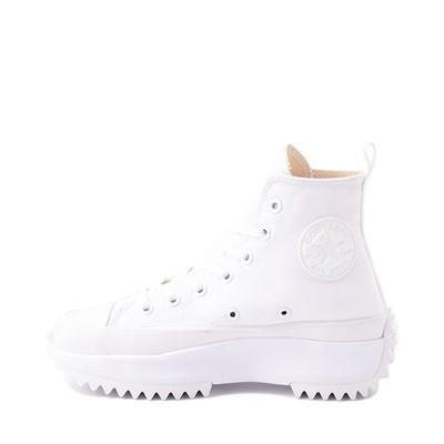 Alternate view of Converse Run Star Hike Platform Sneaker - White Monochrome