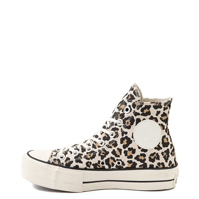 Alternate view of Womens Converse Chuck Taylor All Star Hi Platform Sneaker - Leopard