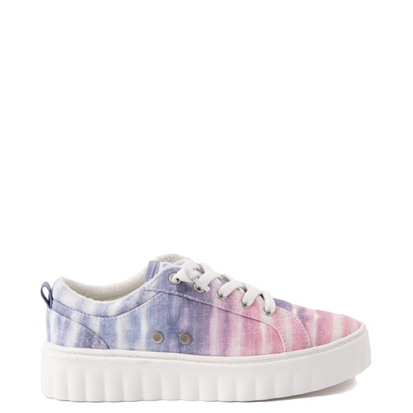 Main view of Womens Roxy Sheilahh Platform Casual Shoe - Pastel Ombre