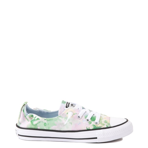 Main view of Womens Converse Festival Chuck Taylor All Star Lo Shoreline Sneaker - Egret / Chambray Blue