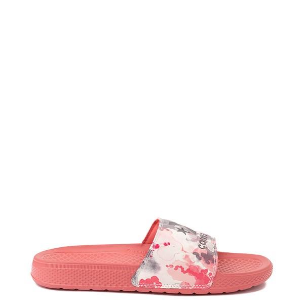 Main view of Womens Converse Chuck Taylor All Star Summerfest Slide Sandal - Dark Pink