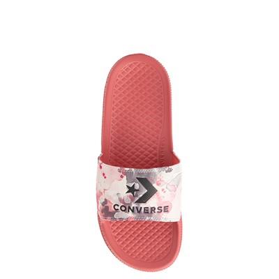 Alternate view of Womens Converse Chuck Taylor All Star Summerfest Slide Sandal - Dark Pink