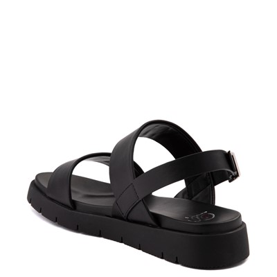 Alternate view of Womens Heart in D Heleena Sandal - Black