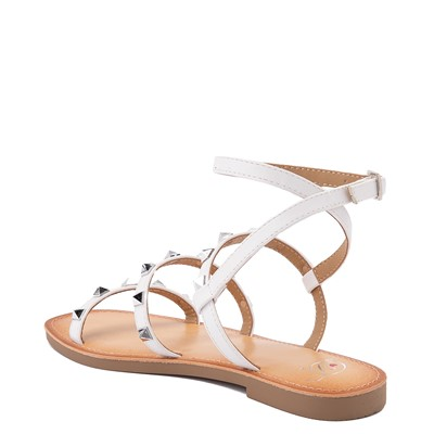 Alternate view of Womens Heart in D Dance Sandal - White