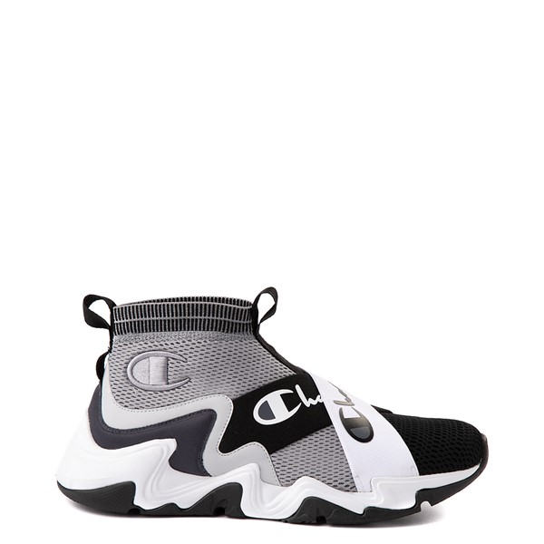 Main view of Mens Champion Hyper C X Athletic Shoe - Concrete / Black / Stealth