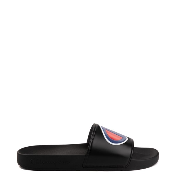 Main view of Mens Champion IPO Slide Sandal - Black