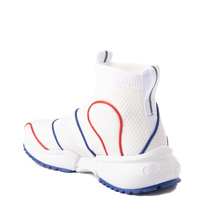 Alternate view of Womens Champion RF 21 Mid Athletic Shoe - White
