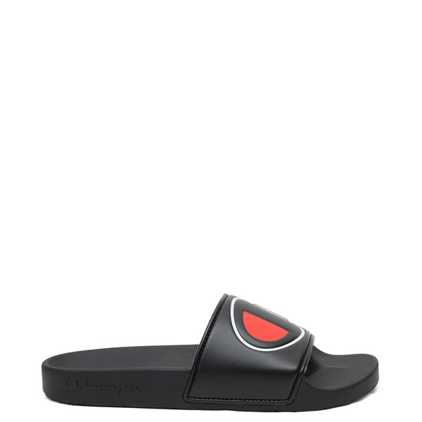 Main view of Womens Champion IPO Slide Sandal - Black