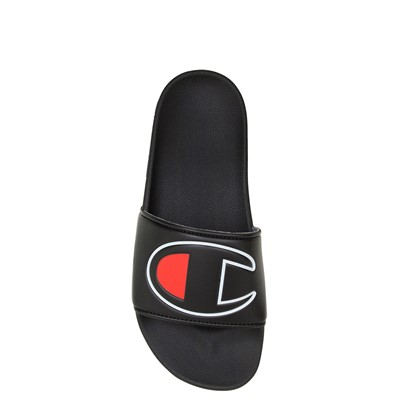 Alternate view of Womens Champion IPO Slide Sandal - Black