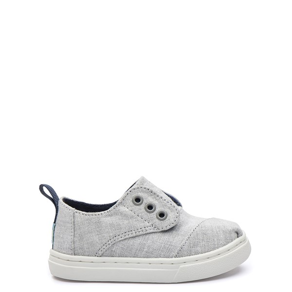 Main view of TOMS Cordones Casual Shoe - Baby / Toddler - Drizzle Grey