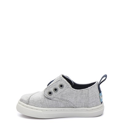 Alternate view of TOMS Cordones Casual Shoe - Baby / Toddler - Drizzle Grey