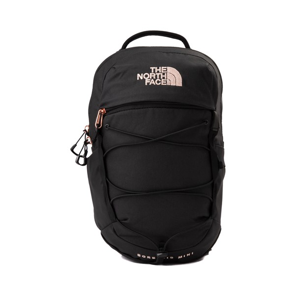 Main view of Womens The North Face Borealis Mini Backpack - Metallic Coral