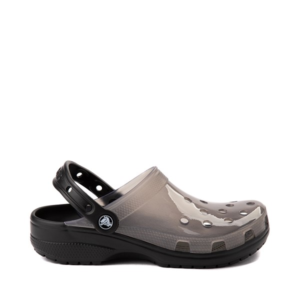 Main view of Crocs Classic Translucent Clog - Black