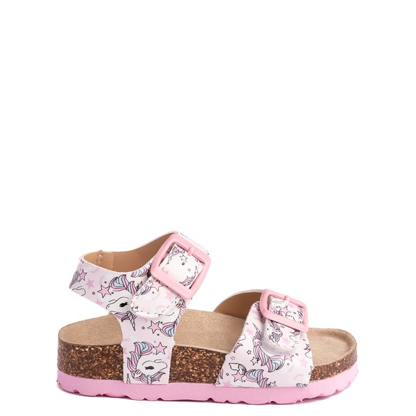 Main view of Laura Ashley Dreamland Unicorn Sandal - Toddler - Pink