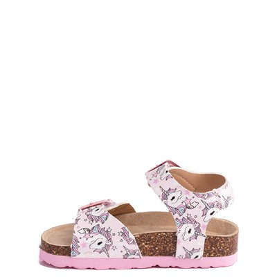 Alternate view of Laura Ashley Dreamland Unicorn Sandal - Toddler - Pink
