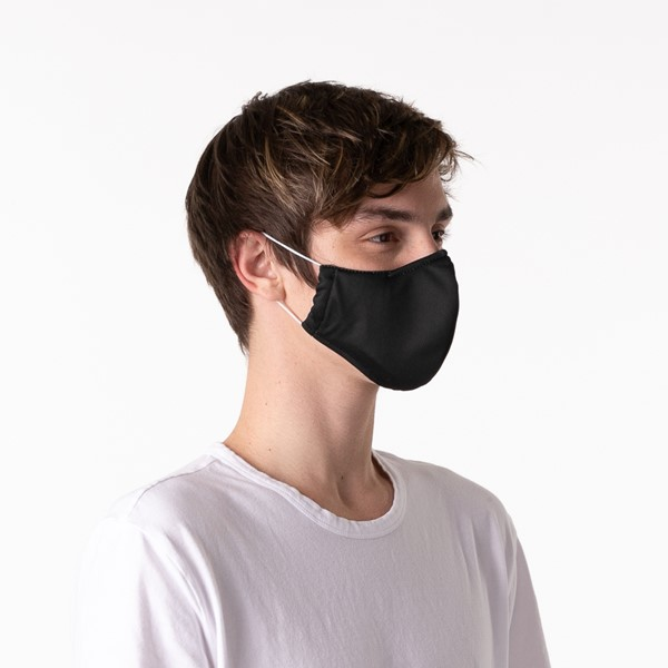 alternate image alternate view Herschel Supply Co. Classic Fitted Face Mask - BlackALT4