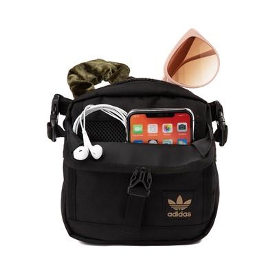 Alternate view of adidas Originals Large Festival Crossbody Bag - Black / Gold