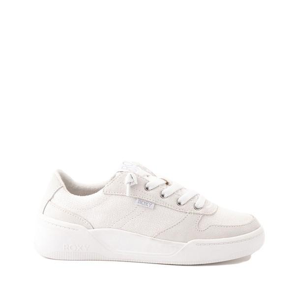 Main view of Womens Roxy Harper Slip On Casual Shoe - White Monochrome