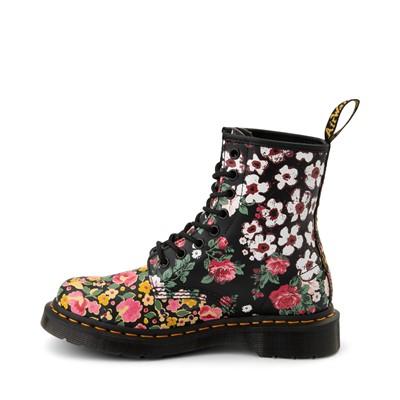 Alternate view of Dr. Martens 1460 8-Eye Floral Mash Up Boot - Black / Multicolor
