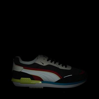 Alternate view of Mens Puma City Rider Athletic Shoe - Multicolor