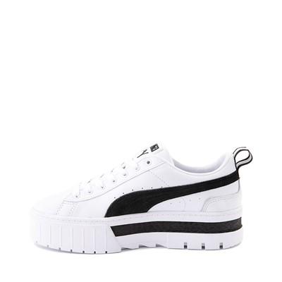 Alternate view of Womens Puma Mayze Platform Athletic Shoe - White / Black