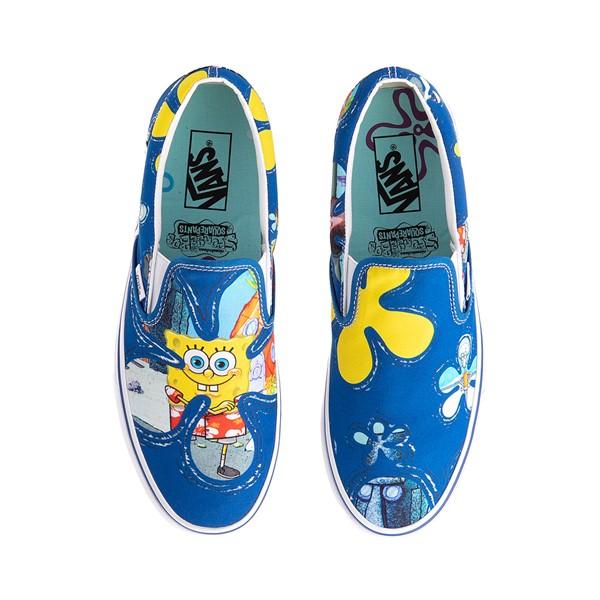 Main view of Vans x SpongeBob SquarePants™ Slip On Alohabob Skate Shoe - Blue