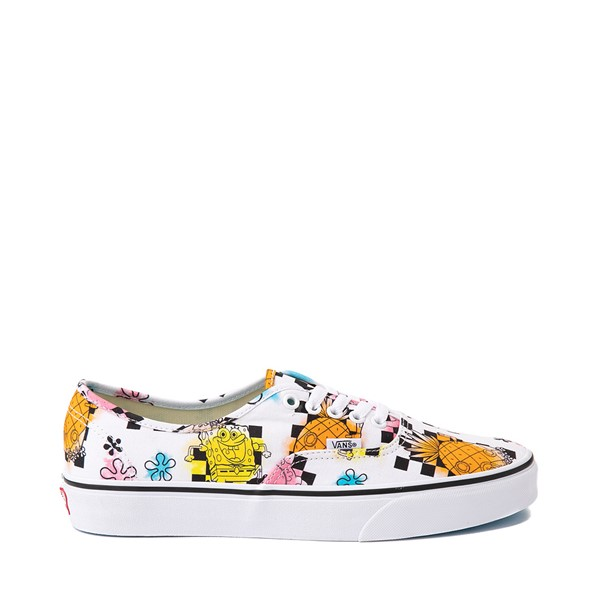 Main view of Vans x SpongeBob SquarePants™ Authentic Airbrush Skate Shoe - White