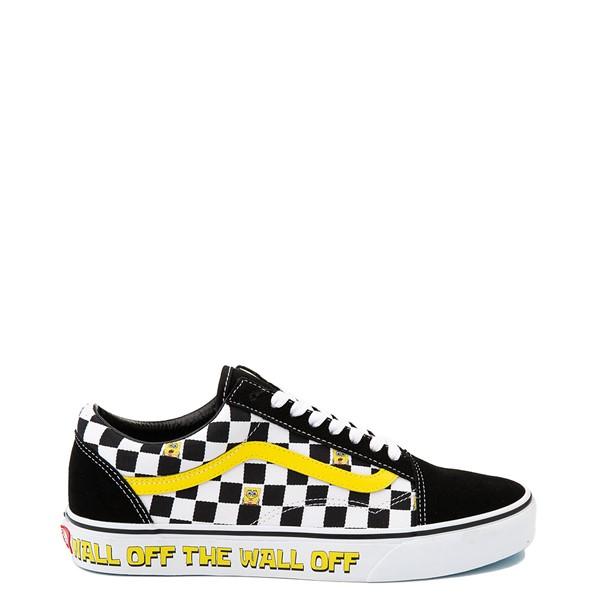 Main view of Vans x SpongeBob SquarePants™ Old Skool Checkerboard Skate Shoe - Black
