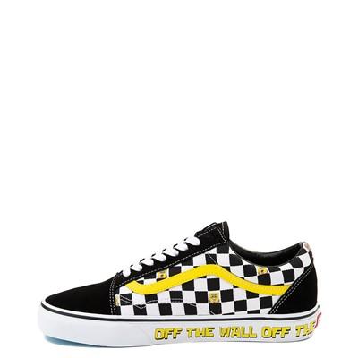 Alternate view of Vans x SpongeBob SquarePants™ Old Skool Checkerboard Skate Shoe - Black