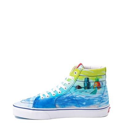 Alternate view of Vans x SpongeBob SquarePants™ Sk8 Hi Imaginaaation Skate Shoe - Multicolor