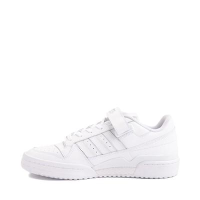 Alternate view of Mens adidas Forum Low Athletic Shoe - White Monochrome