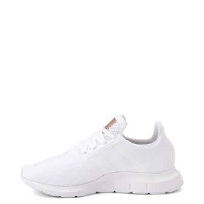 Alternate view of Womens adidas Swift Run Athletic Shoe - White Monochrome