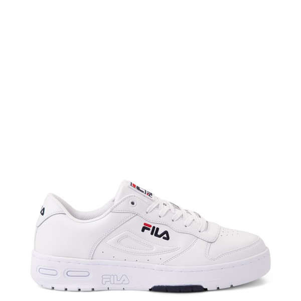 Main view of Mens Fila LNX 100 Athletic Shoe - White / Navy / Red