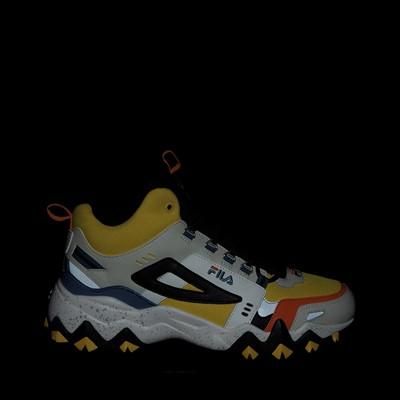 Alternate view of Mens Fila Oakmont TR Mid Athletic Shoe - Lemon / Gardenia / Orange
