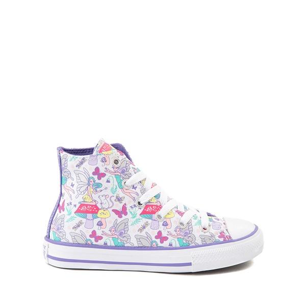 Main view of Converse Chuck Taylor All Star Hi Sneaker - Little Kid - White / Fairies