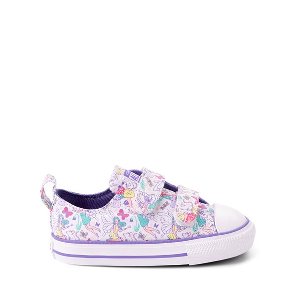 Main view of Converse Chuck Taylor All Star 2V Lo Sneaker - Baby / Toddler - White / Fairies