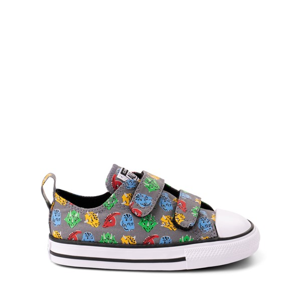 Main view of Converse Chuck Taylor All Star 2V Lo Dinos Sneaker - Baby / Toddler - Grey