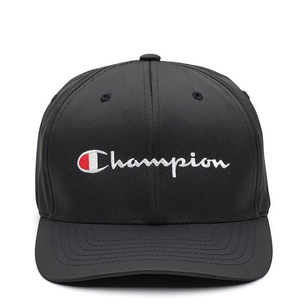 Main view of Champion Script Flexfit Hat - Black