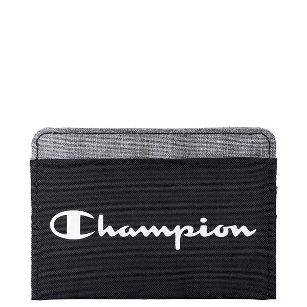 Main view of Champion Camp Card Wallet - Black / Grey