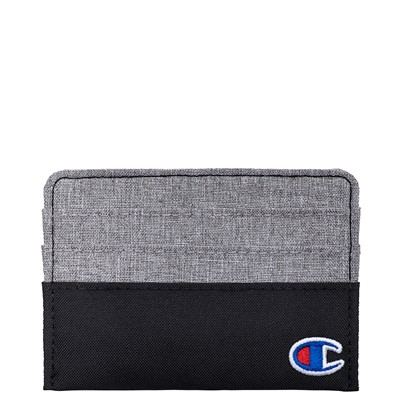 Alternate view of Champion Camp Card Wallet - Black / Grey