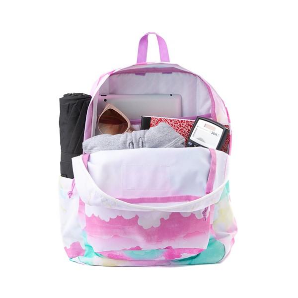 alternate view JanSport Superbreak Plus Backpack - Pastel SkyALT1