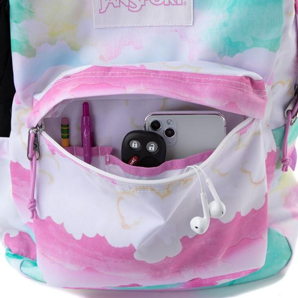 alternate view JanSport Superbreak Plus Backpack - Pastel SkyALT3B
